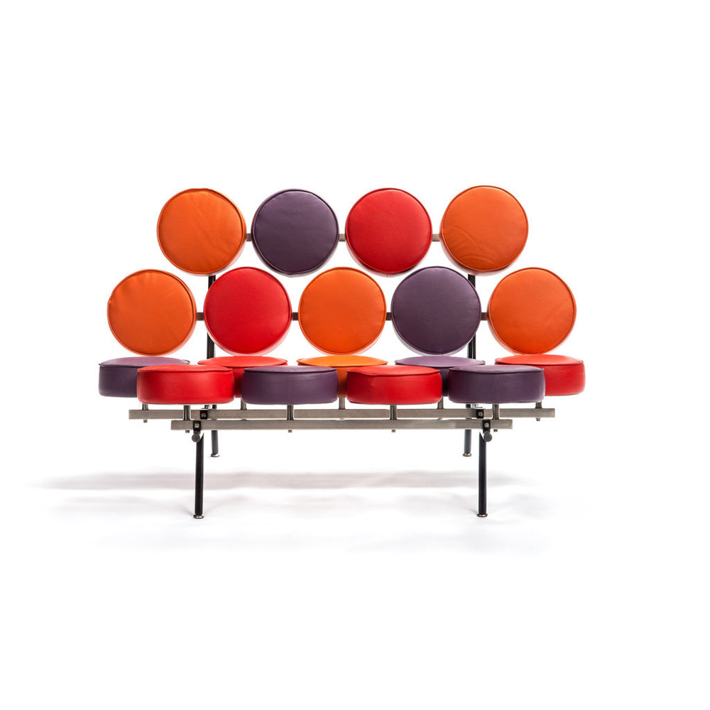 Polka-dot love seat