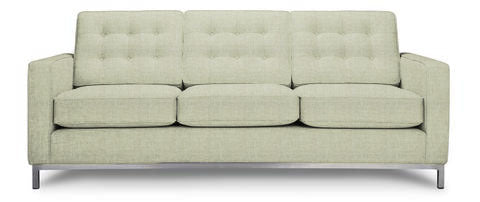 Josh condo size sofa 2 back and 2 bottom cushions