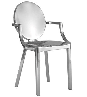 Ghost chair clear and metal version