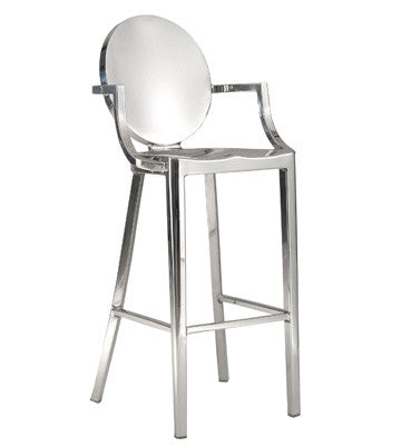 King counter stool, king bar arm and no arm