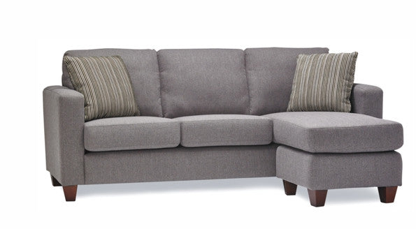 Leif Condo Size Sofa With Add A Chaise Equilibrium
