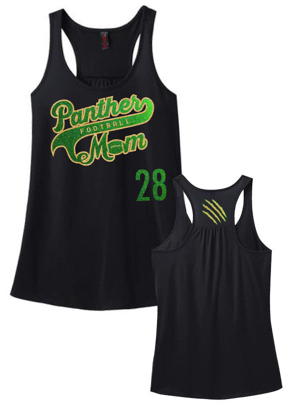 LM Panthers Football Mom Racerback Tank with NUMBER – Royal7-LMPanthers 21c13d47e