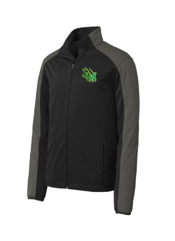 Active Soft Shell Jacket Neon Claw Embroidered