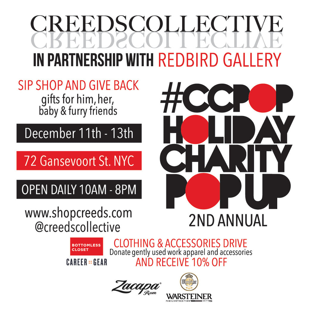 Holiday Pop-up Shop With Creed Collective