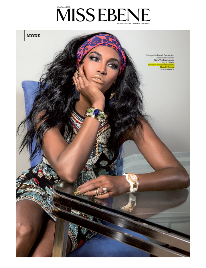 HoT Press; Miss Ebene Magazine featuring Sessilee Lopez