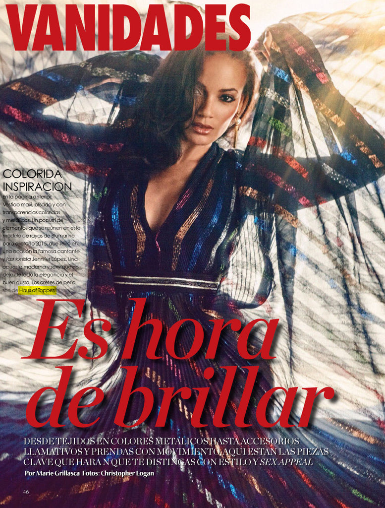 HoT press: Vanidades November issue