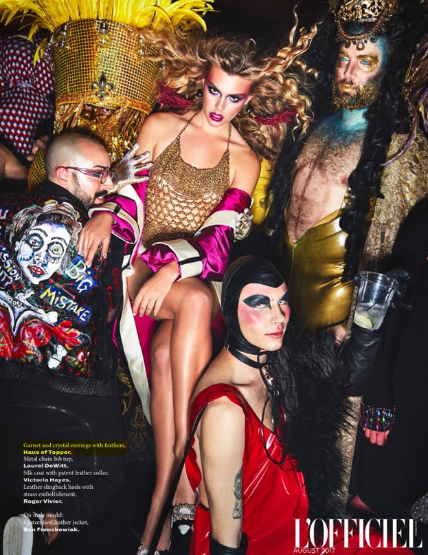 Hot Press: L'Officiel Singapore