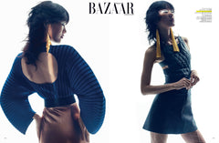Harpers Bazaar featuring Haus of Topper Tassel earrings