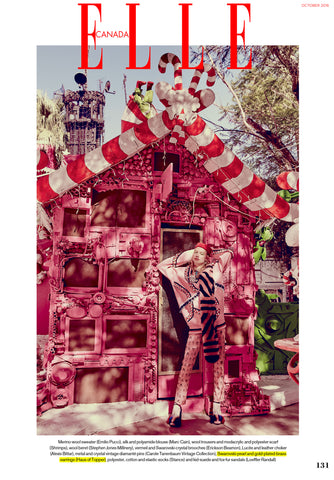 Haus of Topper in Elle Canada Candy land story