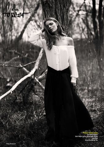 Haus of Topper necklace in The Forest Magazine