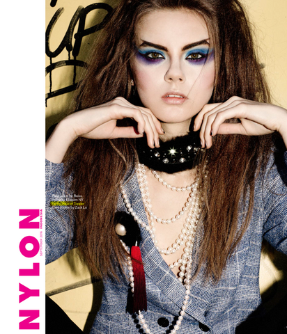 Haus of Topper Brooch in Nylon Magazine