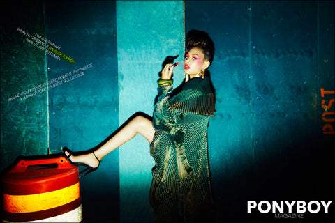 Haus of Topper Tassel earrings in Ponyboy magazine