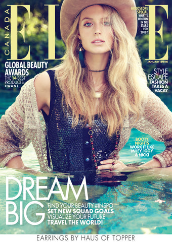Elle Canada cover