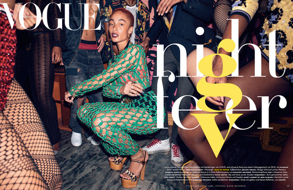 Night fever in Vogue Germany