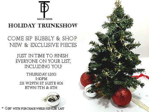 holiday trunkshow