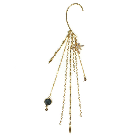 Dream Goddess Ear Cuff - Haus of Topper