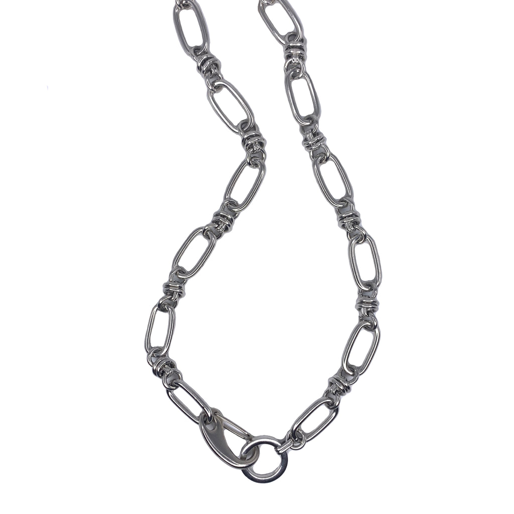Hustler Necklace in Silver