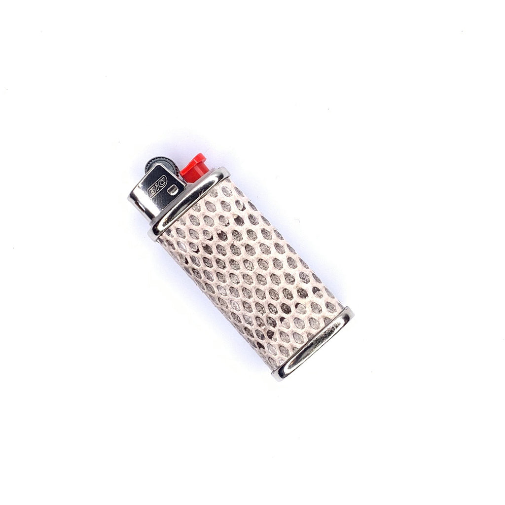 Mini Lighter Cover in Lizard