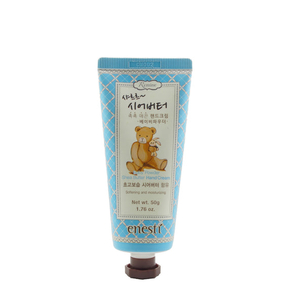 Enesti Baby Powder Shea Butter Hand Cream