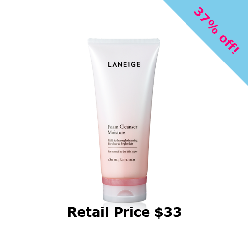 Laneige Foaming Cleanser Moisture