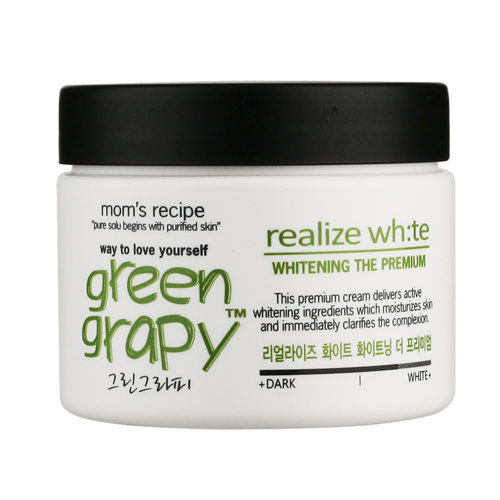 Mom's Recipe Green Grapy Whitening The Premium Cream