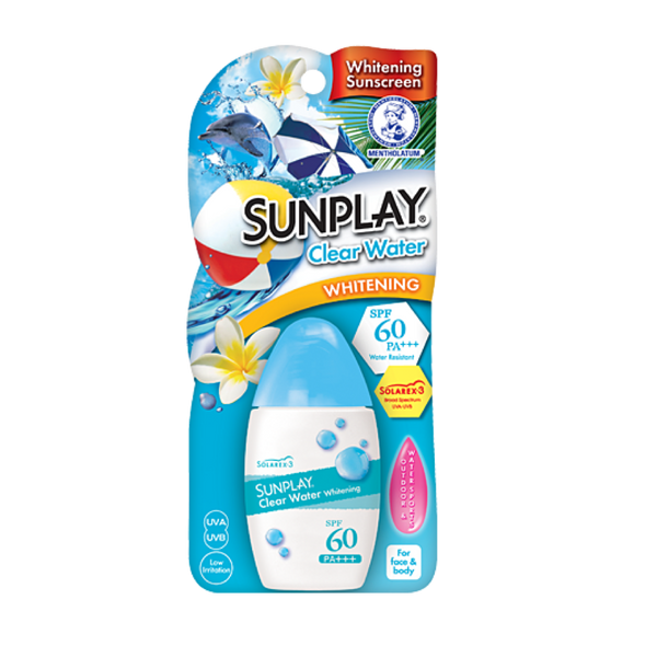 Sunplay clear water whitening