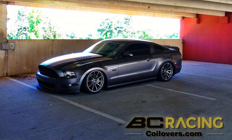 Ford Mustang on BC Coilovers