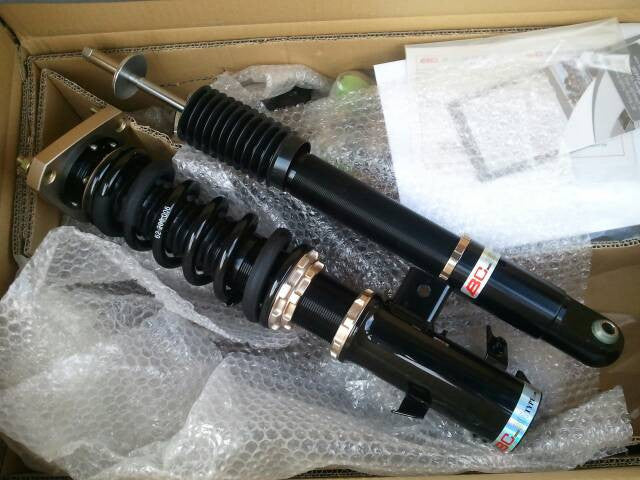 12-15 Honda Civic BC Racing Coilovers - BR Type