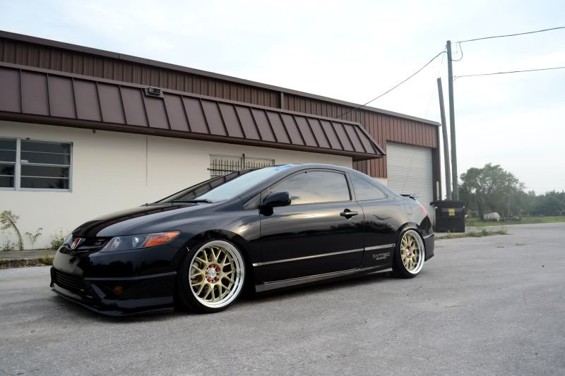 Civic on BC Racing RM type coilovers