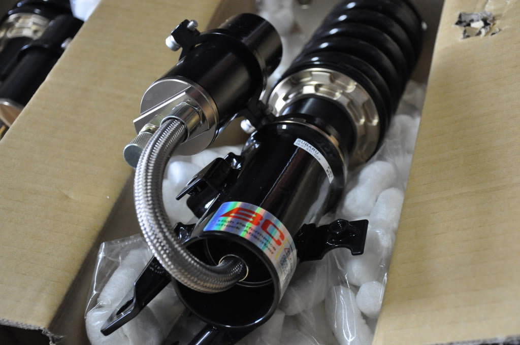 Details of the ER type coilover for the 350Z  D-17-ER
