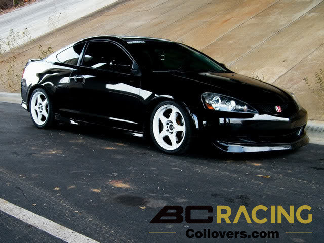 Extreme Low BC Coilovers installed on a Acura RSX