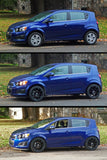 12-16  Chevrolet Sonic BC Racing Suspension BR Coilovers