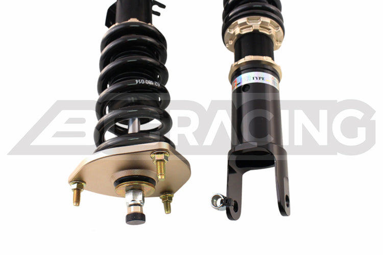 03-08 Nissan 350Z BC Racing BR Coilovers (True Coilover Rear)