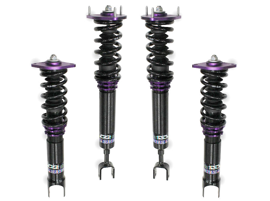 03-07 Infiniti G35 RWD True Rear D2 Racing Coilovers - RS Series