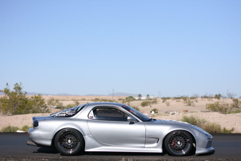 FD on BC coilovers - widebody FD rx7 with BC Racing coilovers