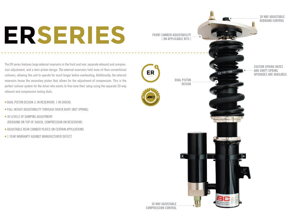 08-UP Nissan GTR R35 BC Racing Coilovers - ER Type