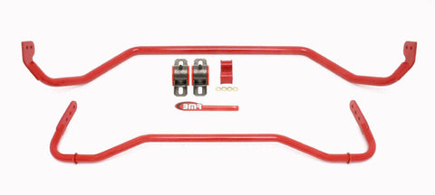 SB043R-Ford-Mustang--Front-&-Rear-Sway-Bar-Kit-w/-Bushings-Red