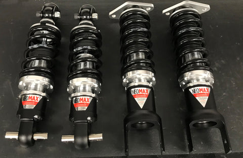 97-13 Chevy Corvette C5 / C6 Silvers Coilovers - Neomax