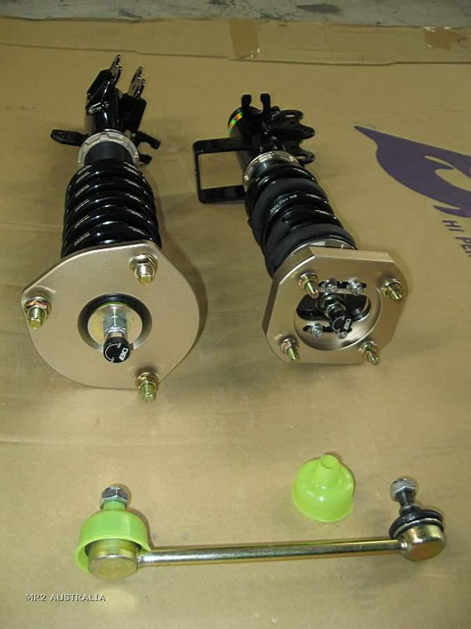 86-89 Toyota MR2 BC Racing Coilovers - BR Type