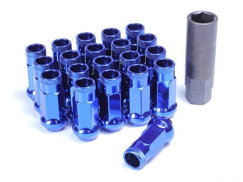 Muteki SR48 Extended Racing Lug Nuts 20pcs - Blue