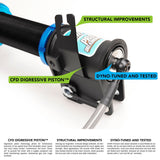 01-07 Mitsubishi Lancer Evo 7/8/9 (CT9A) Fortune Auto Coilovers - Dreadnought Pro 2-Way