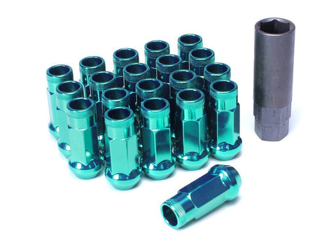 Muteki SR48 Extended Racing Lug Nuts 20pcs - Green
