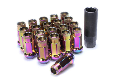 Muteki SR48 Extended Racing Lug Nuts 20pcs - NeoChrome