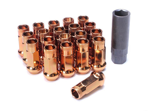 Muteki SR48 Extended Racing Lug Nuts 20pcs - Copper Orange
