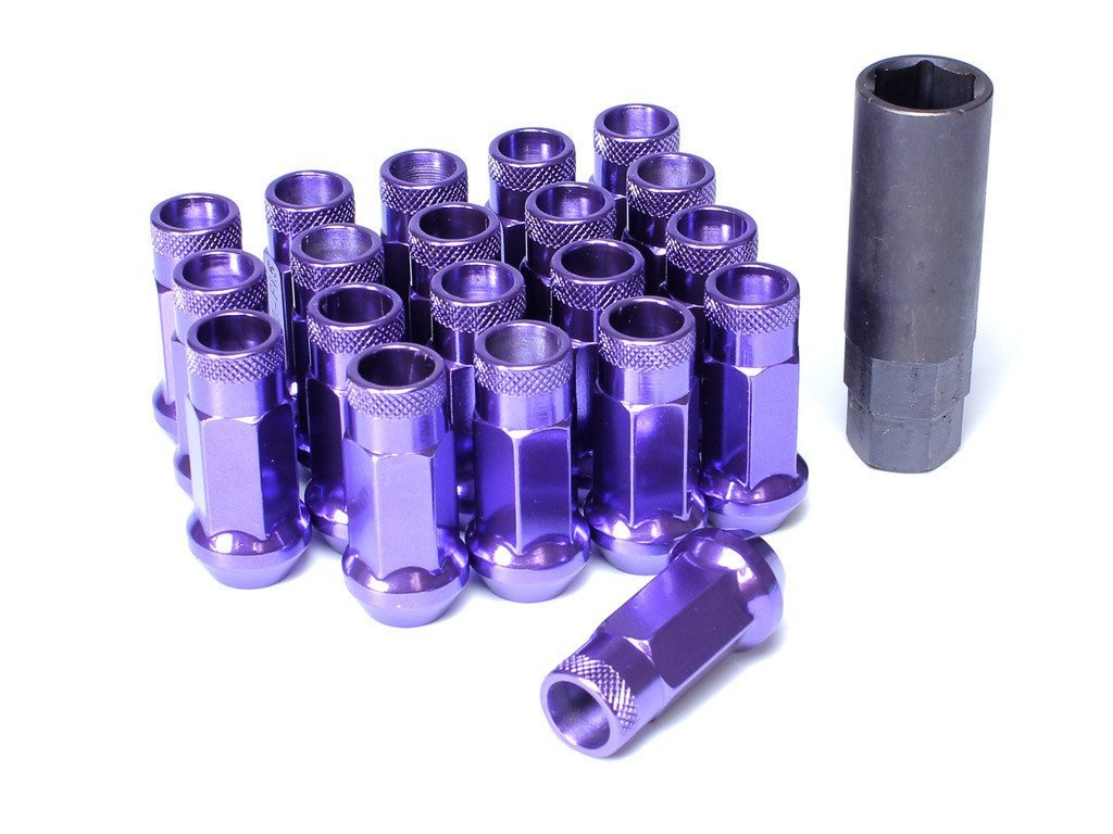 Muteki SR48 Extended Racing Lug Nuts 20pcs - Purple