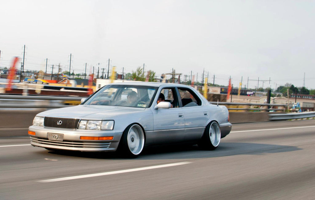 LS400 with BC Coilovers - BR Type Coilovers