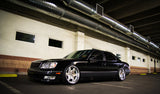 BC Coilovers installed on a 2000 Lexus LS400