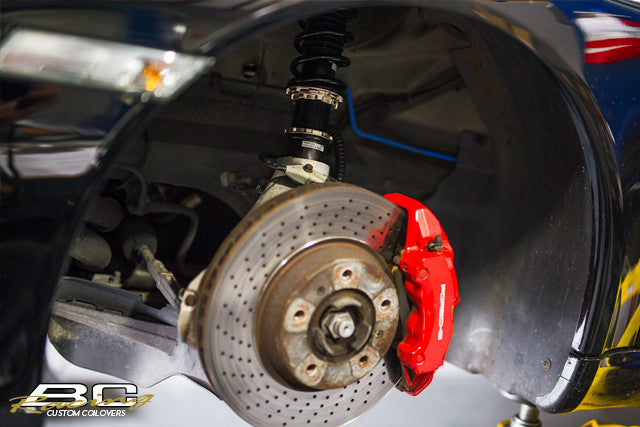 09-12 Porsche 911 RWD NA 997 BC Racing Coilovers