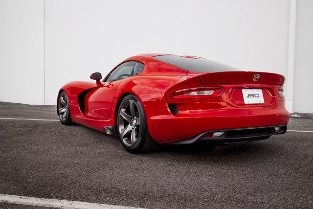 2013+ Dodge Viper BC Racing Coilovers installed