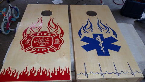 fireman-emt-medical-cornhole-board-decals-stickers-graphics-wraps